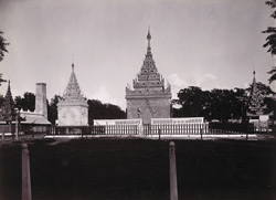 King Mindon's Tomb, [Mandalay]